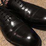 最初に購入する革靴は黒のストレートチップが絶対おすすめ