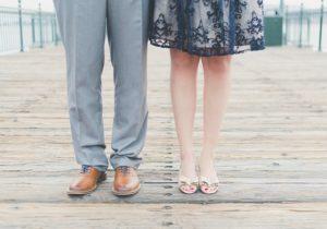 男性用のモテる靴